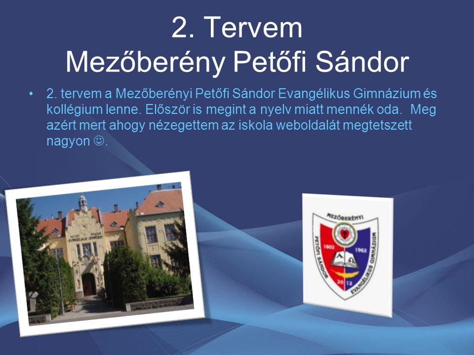 2.Tervem Mezőberény Petőfi Sándor 2.