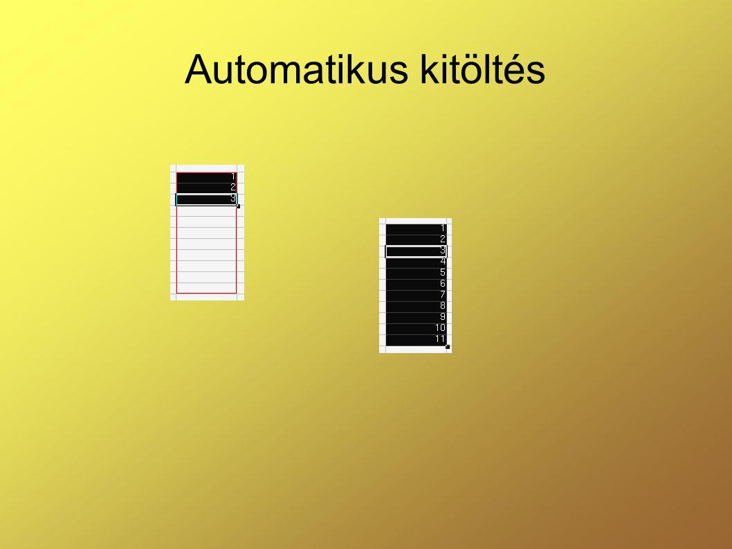 Automatikus kitöltés