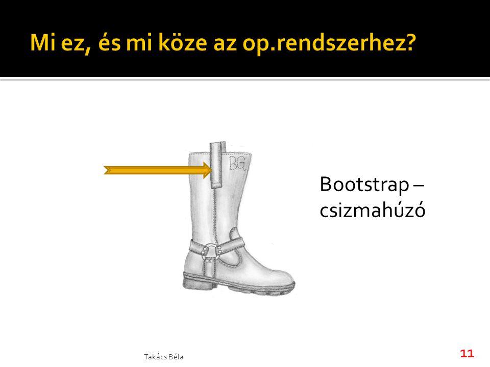 Takács Béla 11 Bootstrap – csizmahúzó