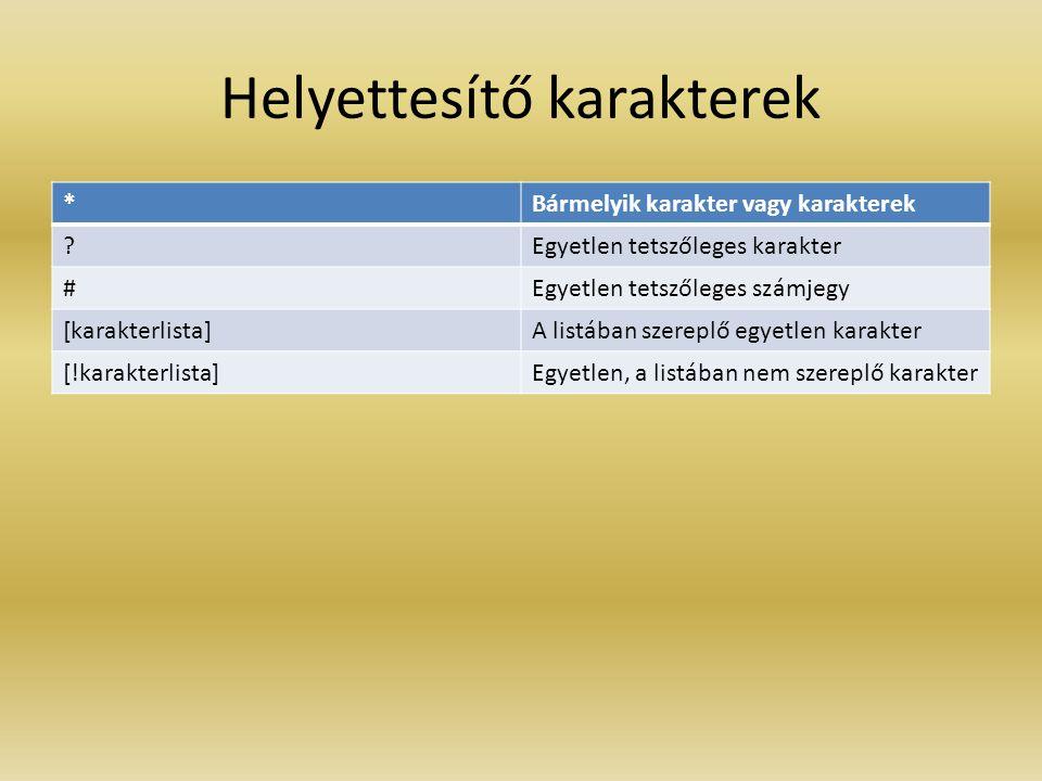 ARITMETIKAI MŰVELETEK 1.^ hatványozás pl. 2^3 8 2.