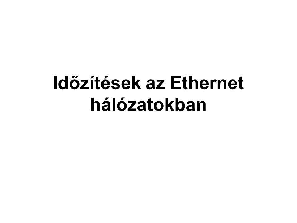 Időzítések az Ethernet hálózatokban