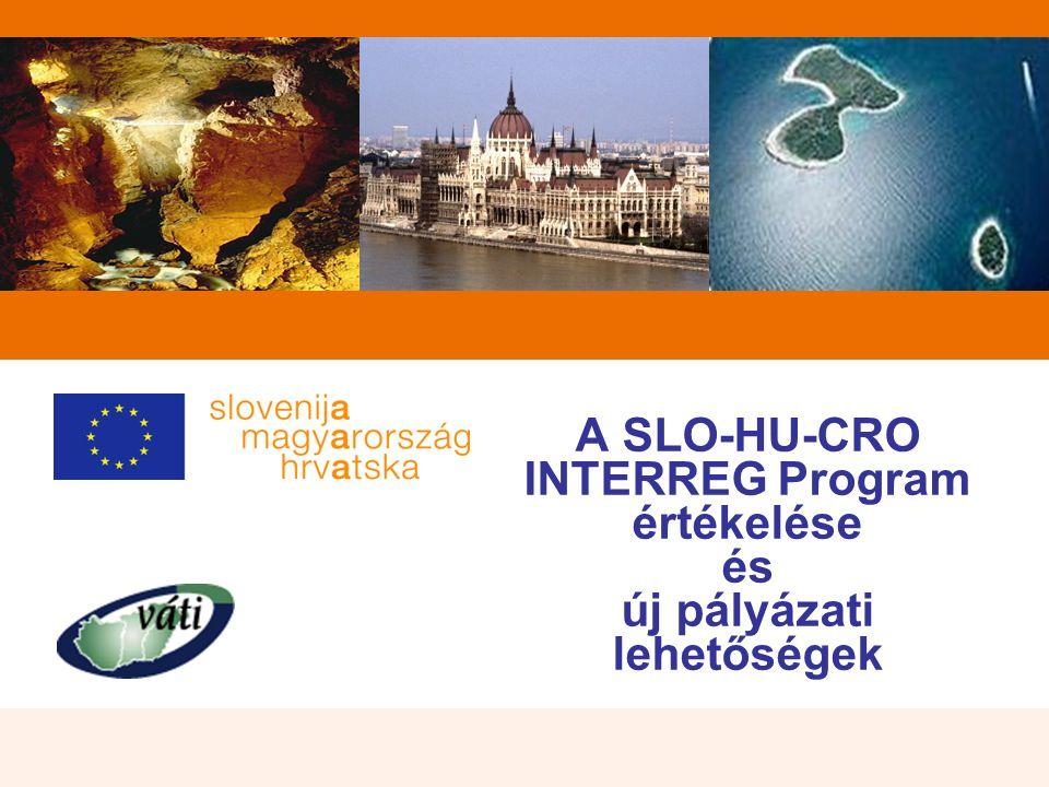 A SLO-HU-CRO INTERREG Program értékelése és új pályázati lehetőségek