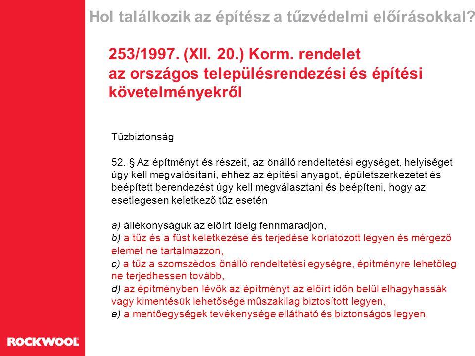 Lapostetők szigetelési előírásai 4.8.11.