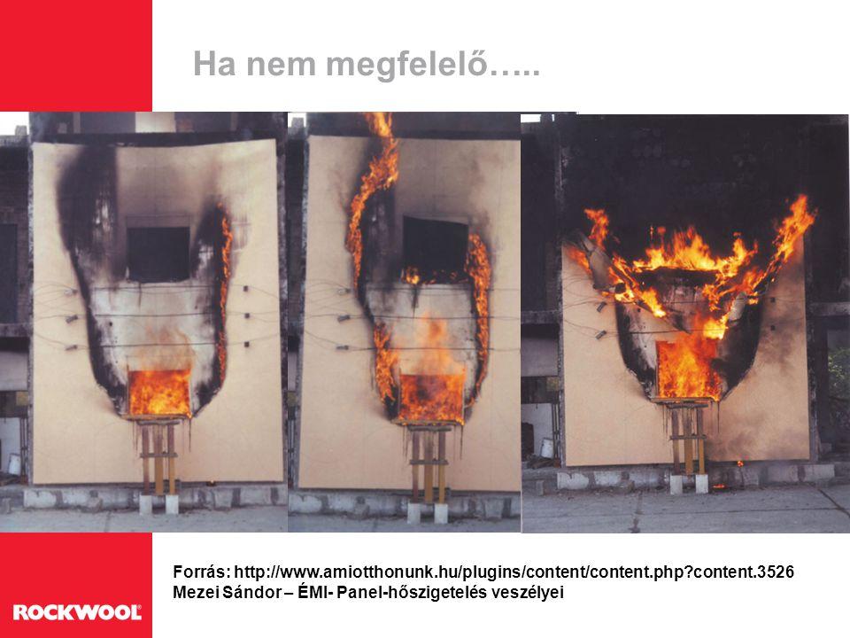 Ha nem megfelelő….. Forrás: http://www.amiotthonunk.hu/plugins/content/content.php?content.3526 Mezei Sándor – ÉMI- Panel-hőszigetelés veszélyei