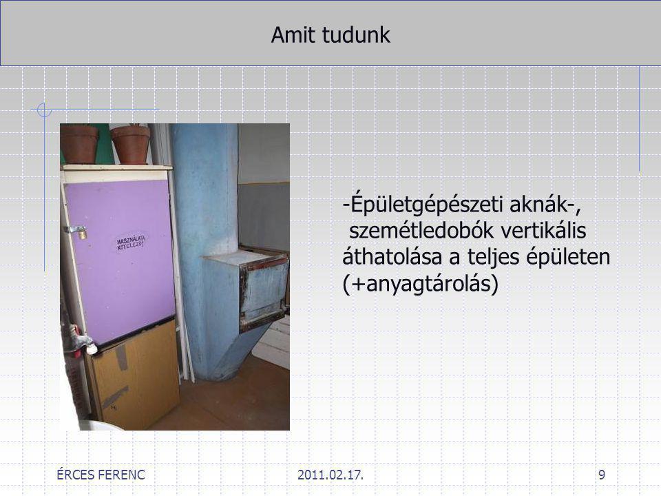 """ÉRCES FERENC2011.02.17.30 Eltérési kérelem """"virtuális rácsok?"""