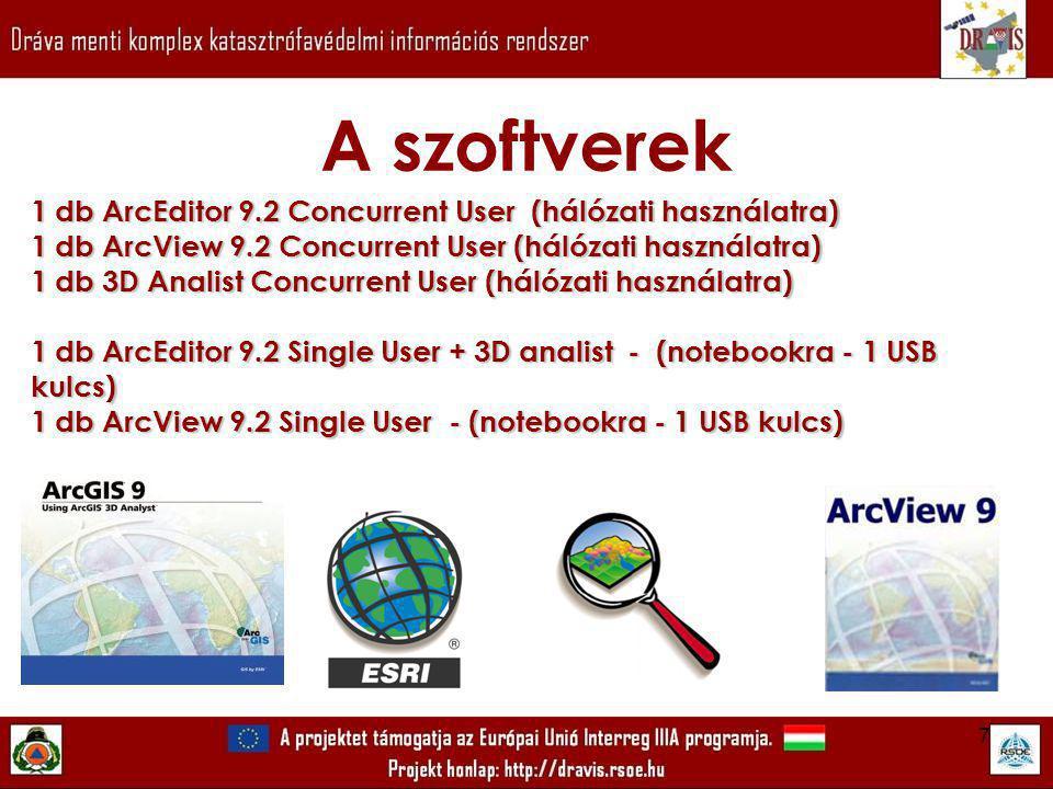 18 Mibentudtöbbet? Koordinátarendszerek közötti átjárás ArcView 9.2 programban