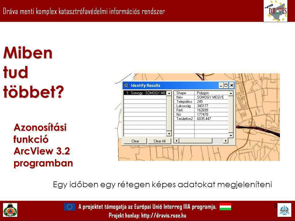 20 ArcView 9.2 szoftver és Aloha program segítségévellétrehozott terjedési térkép Mibentudtöbbet.