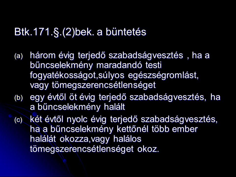 Btk.171.§.(2)bek.