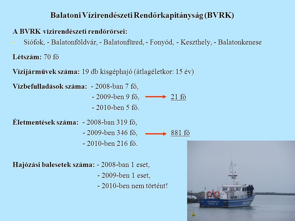 6 Tavaink biztonsága - Balaton -  Közép-Európa legnagyobb állóvize,  vízterülete: 593 km2,  102 hatóságilag engedélyezett kikötő,  150 hatóságilag