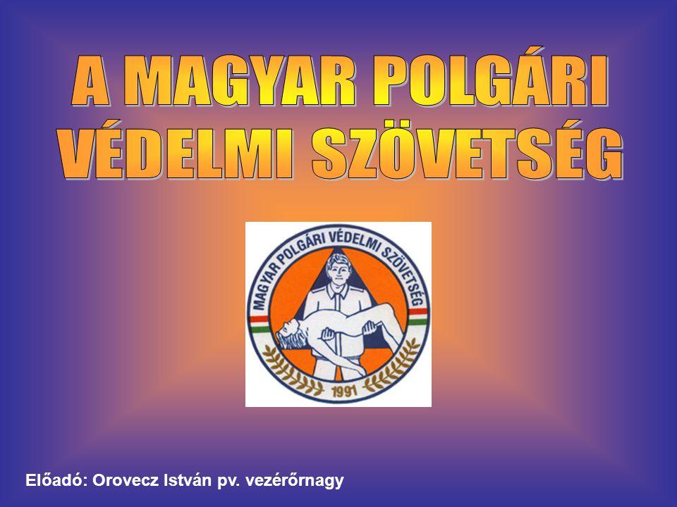 Előadó: Orovecz István pv. vezérőrnagy