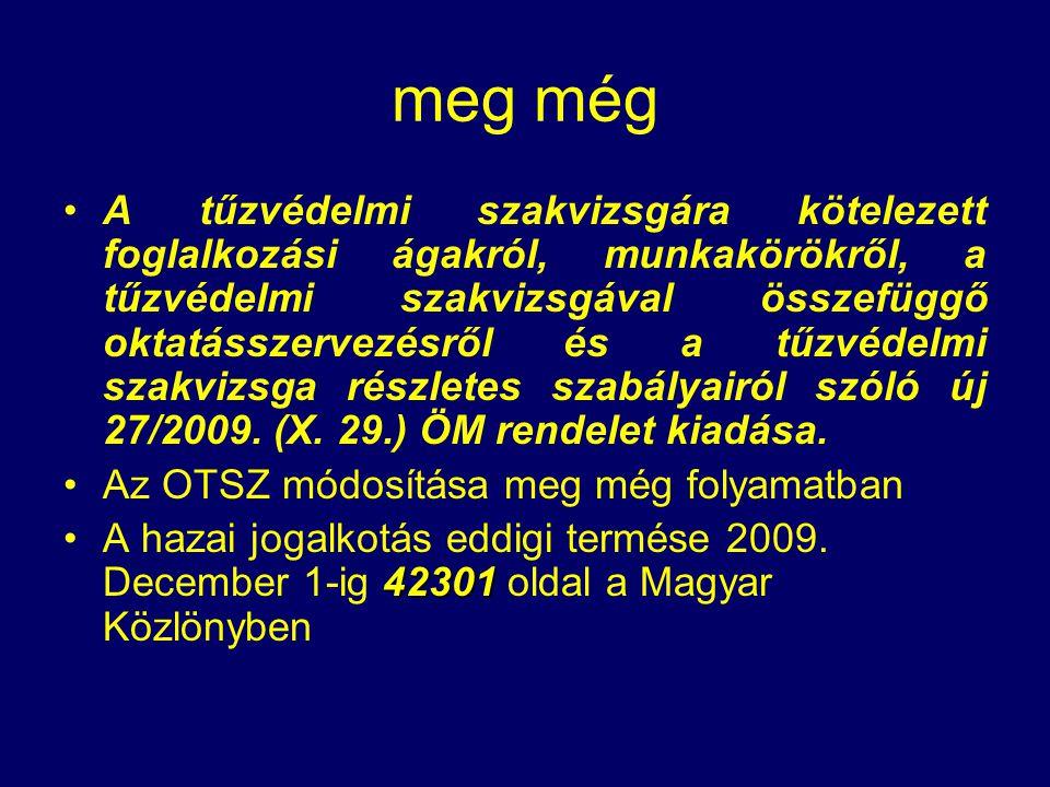 Az új 261/2009.(XI. 26.) Korm.