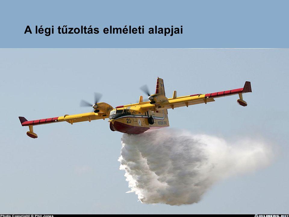 A légi tűzoltás elméleti alapjai