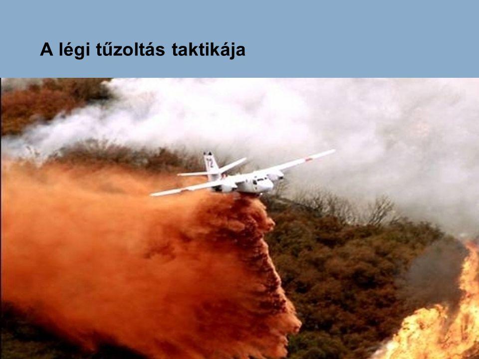 V repgé p s szórás A szórt Egyenes vonalban végrehajtott vízkibocsátás  :a forduló dőlésszöge A szóráskép megváltozása a bedöntési szög hatására A repülési magasság  V = o A légi tűzoltás módjai – repüléstechnikai szempontból Pontszerű oltás Kibocsátás rárepülés után kifordulással