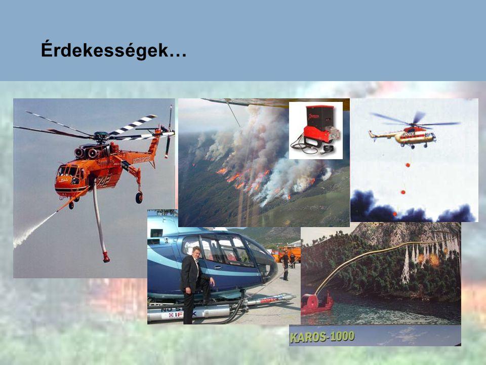 A légi tűzoltás biztonsága