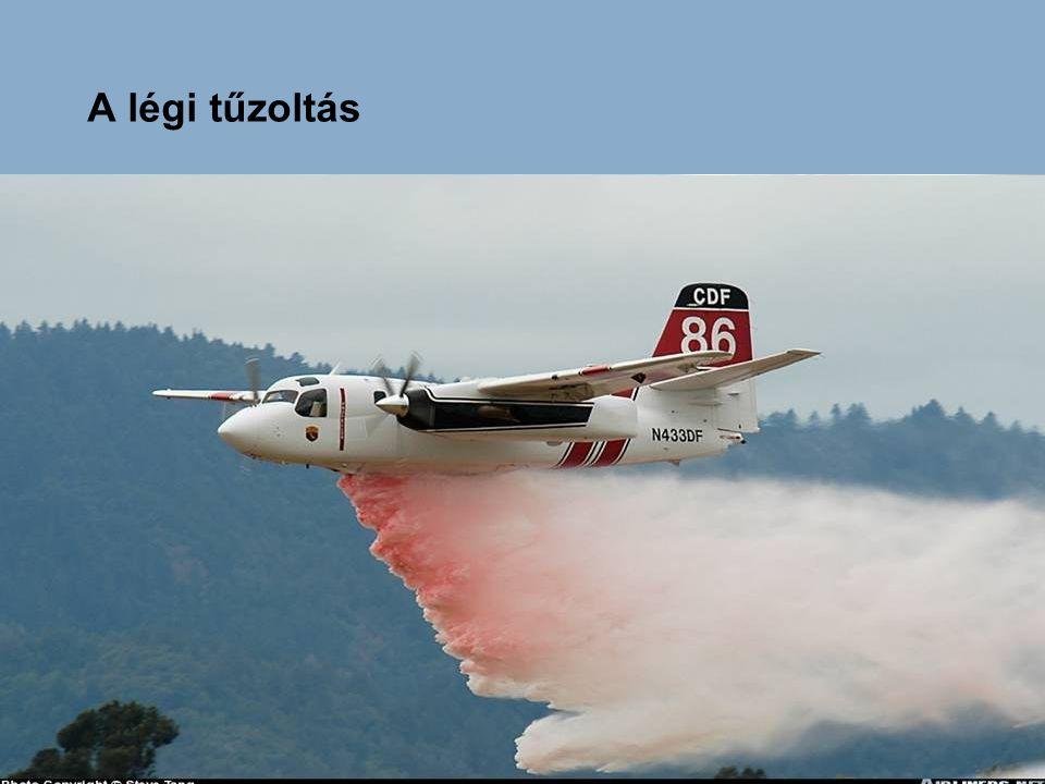 A légi tűzoltás eszközrendszere I.