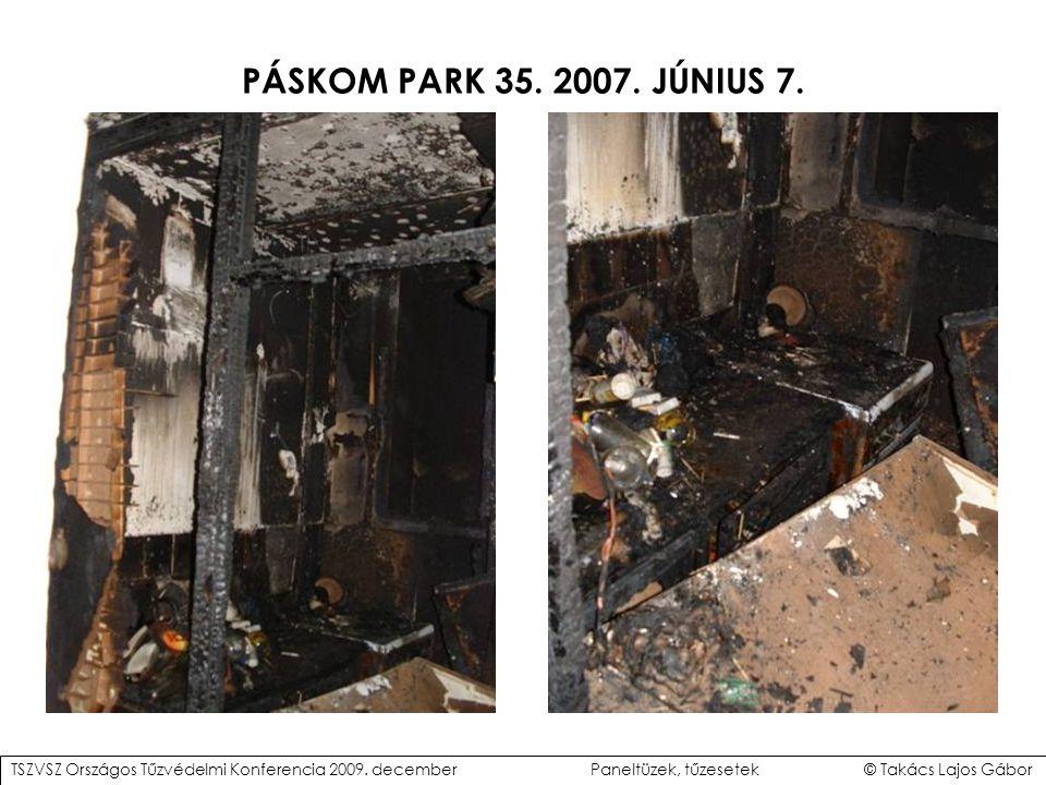 PÁSKOM PARK 35.2007. JÚNIUS 7. TSZVSZ Országos Tűzvédelmi Konferencia 2009.