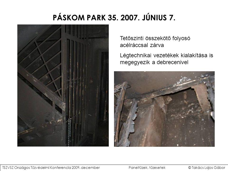 PÁSKOM PARK 35.2007. JÚNIUS 7.