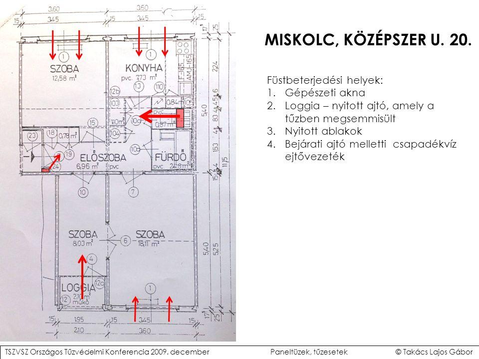 MISKOLC, KÖZÉPSZER U.20.