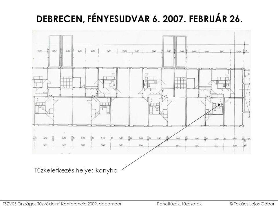 DEBRECEN, FÉNYESUDVAR 6.2007. FEBRUÁR 26. TSZVSZ Országos Tűzvédelmi Konferencia 2009.