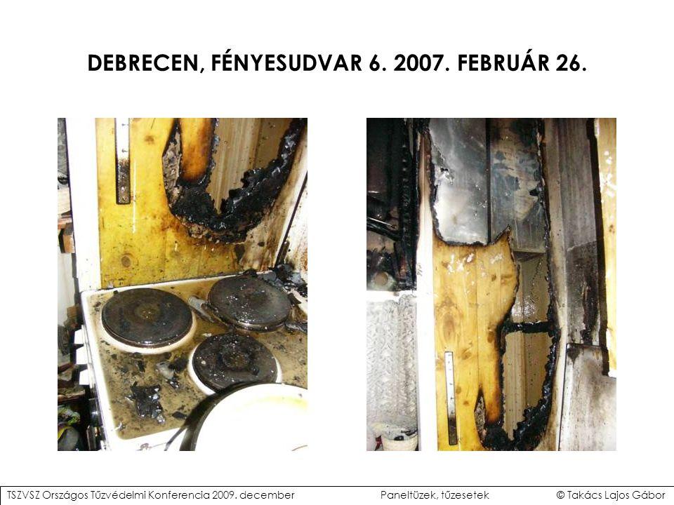 """""""Közepesen éghető D-s2,d0 horonyeresztékes deszkaburkolat (Debrecen) """"Könnyen éghető D-s2,d0 OSB burkolat (Debrecen) GÉPÉSZETI AKNÁK HATÁROLÓ SZERKEZETEI TSZVSZ Országos Tűzvédelmi Konferencia 2009."""