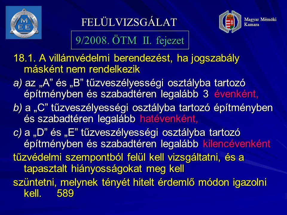 FELÜLVIZSGÁLAT 18.1.