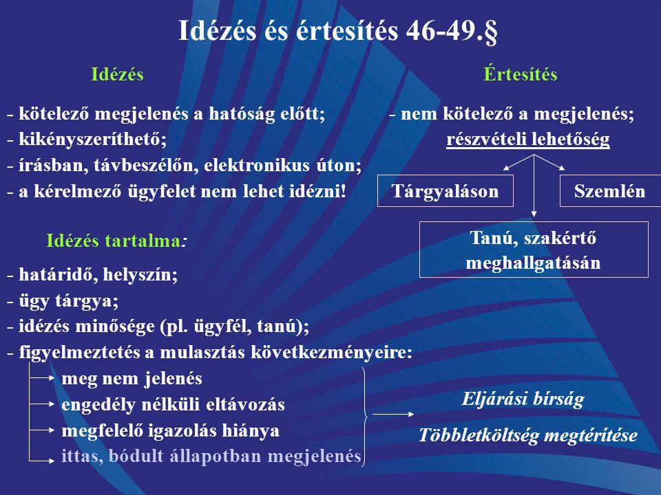 40/1997. ( XII.21.) Ktm. r. építéshatósági kötelezésről 4.§ (7) Ha valamely - jogszabályon alapuló - más hatóság megkeresése (környezet-, természet- v