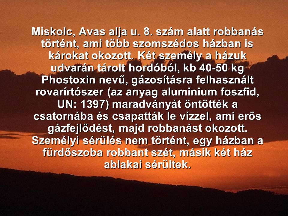 Miskolc, Avas alja u. 8.