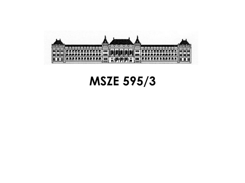 MSZ 595/5 – A MELLÉKLET (ELŐÍRÁS) TSZVSZ Országos Tűzvédelmi Konferencia 2009.
