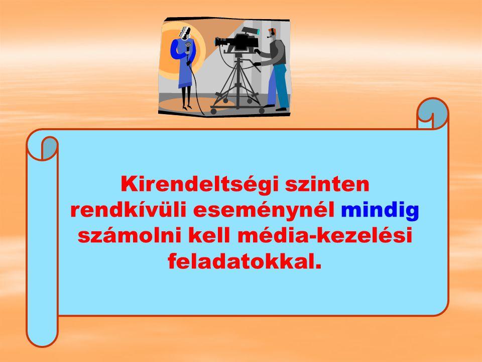 Kulcsfogalmak Rendkívüli események Krízis Pánik Krízisintervenció Kommunikáció Média Médiakezelés