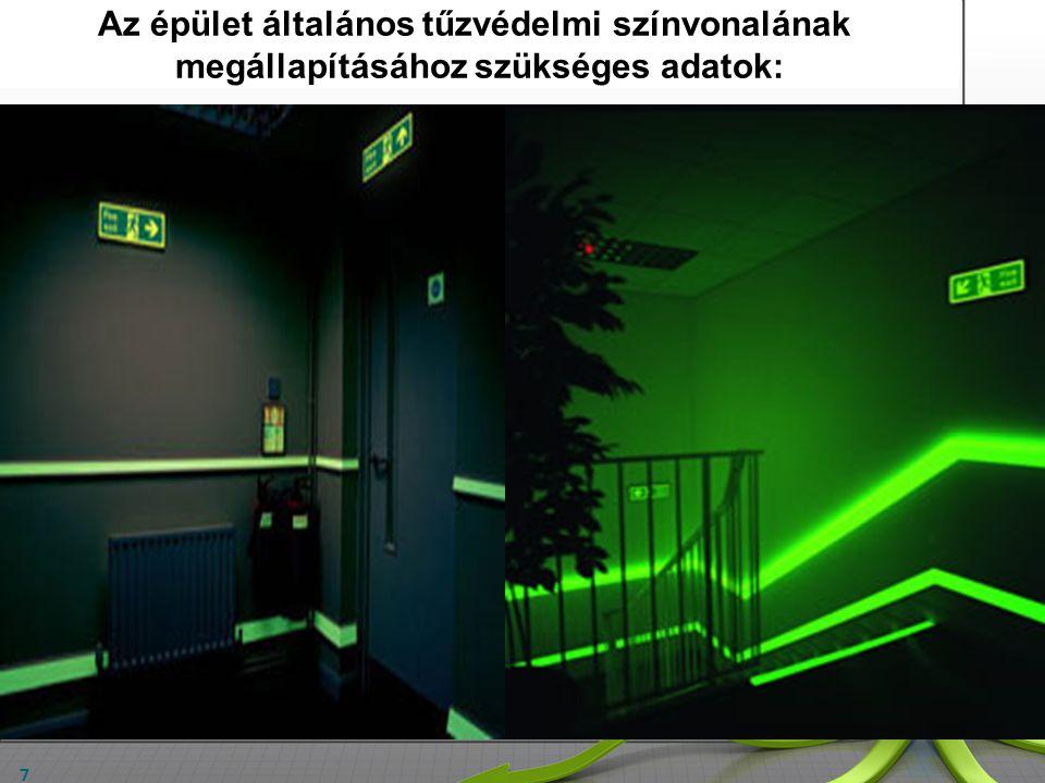 7 Egyéb helyiségek kapcsolata a kiürítési útvonallal: Szemétledobó; kukatároló; liftgépház; pincebejárat: - folyosóra nyílik / lépcsőházba nyílik / eg