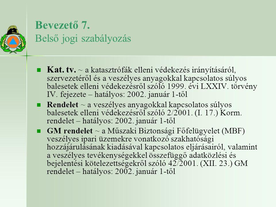 A hazai jogszabályok változása – –A Kat.tv.