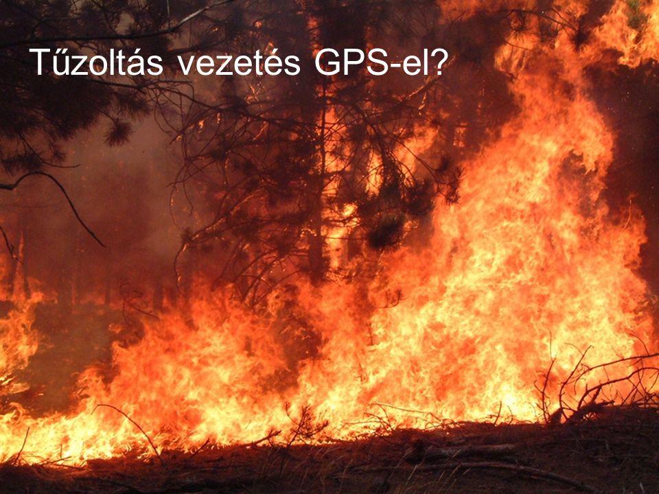 Tűzoltás vezetés GPS-el