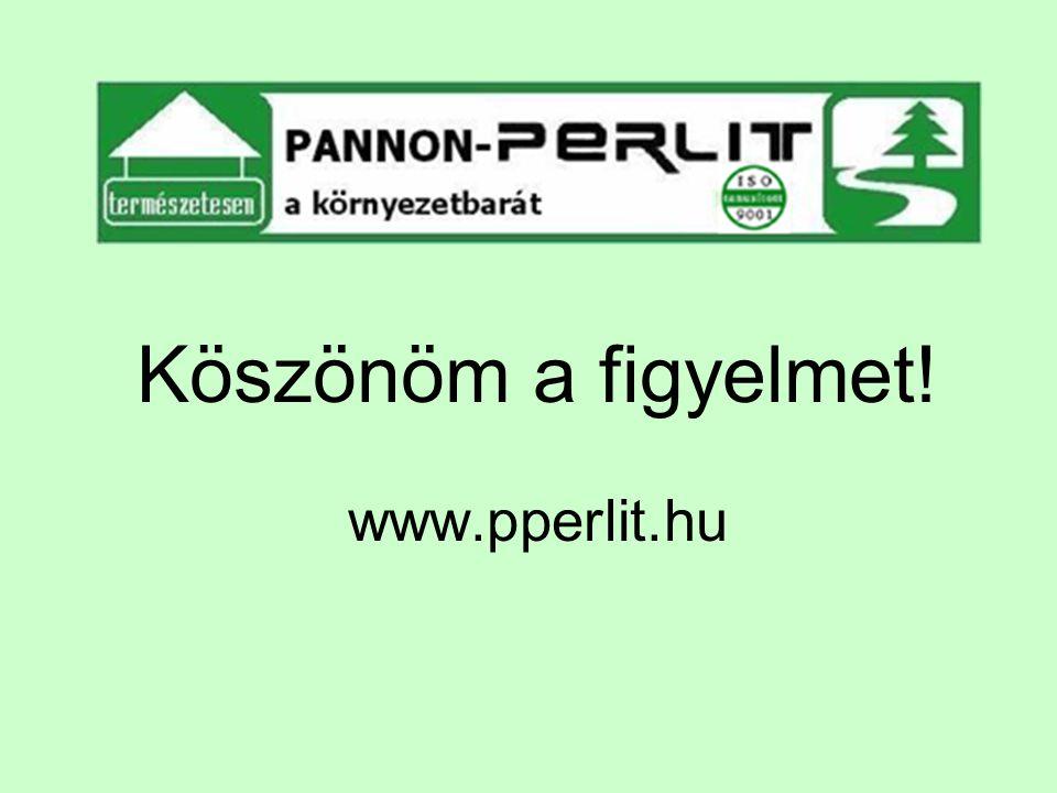 Köszönöm a figyelmet! www.pperlit.hu