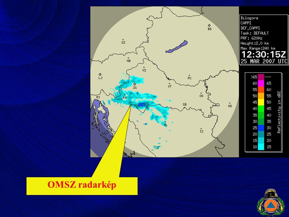 OMSZ radarkép