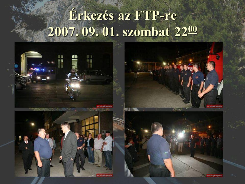 Érkezés az FTP-re 2007. 09. 01. szombat 22 00