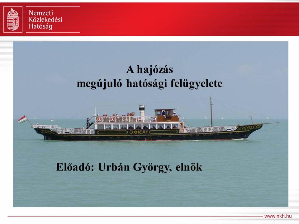 Főbb mutatószámok Hajózás – számokban 19.830 kishajó, 400 kereskedelmi hajó és uszály 120 személyszállító nagyhajó 270 úszó munkagép 200 kikötő, 65 komp- és révátkelőhely 70.000 fő hajózási képesítéssel rendelkező személy 1.500 folyamkm viziút 1.827.000 tonna áruszállítás (2009)