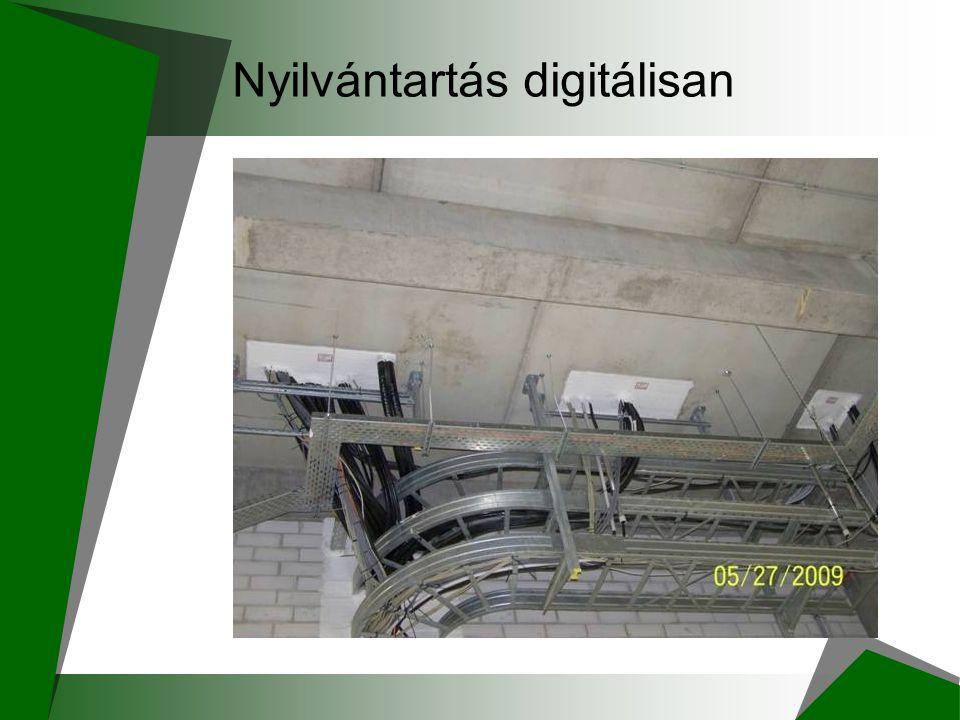 Nyilvántartás digitálisan