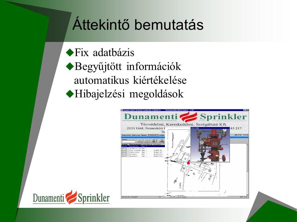 Áttekintő bemutatás  Hardver eszközök  Működés: adatok tárolása, áttöltése
