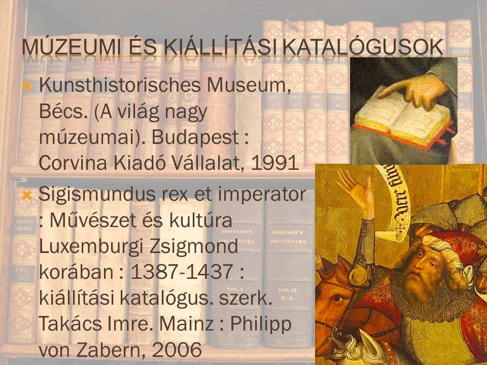  Kunsthistorisches Museum, Bécs.(A világ nagy múzeumai).