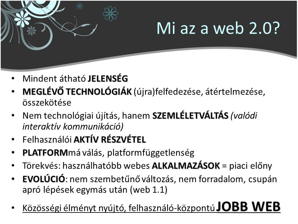 Mi az a web 2.0.
