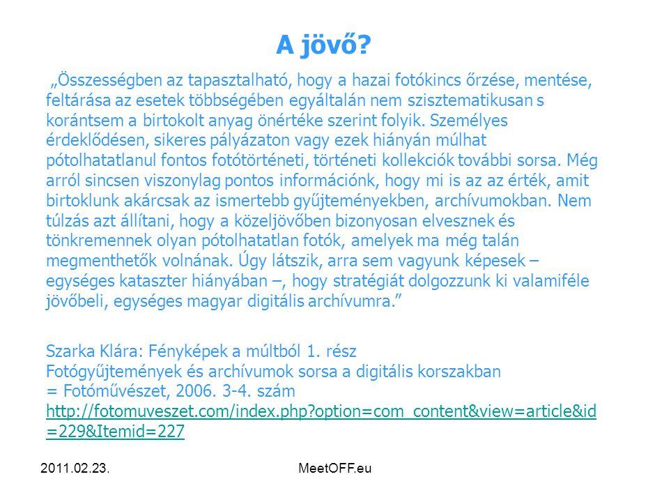 2011.02.23.MeetOFF.eu A jövő.