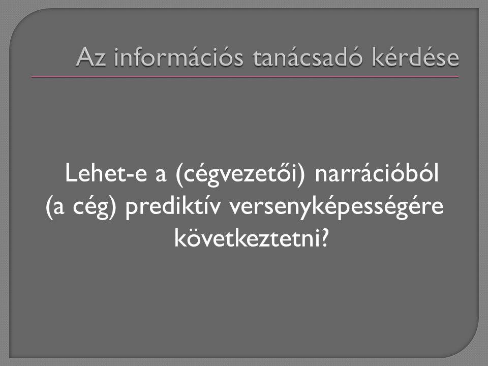 A projekt honlapja: http://www.gmconsulting.hu/inf/cikkek/312/i ndex.php Mikulás Gábor, GM Consulting mikulasg@gmconsulting.hu