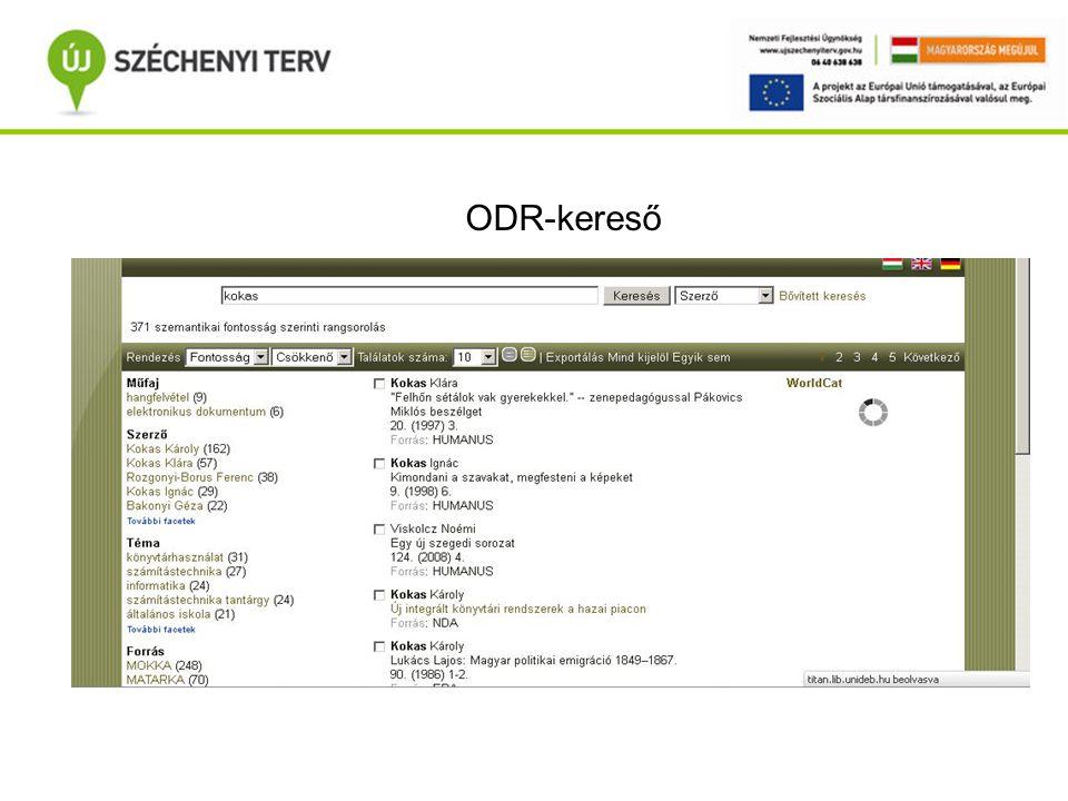 Portál ODR-kereső