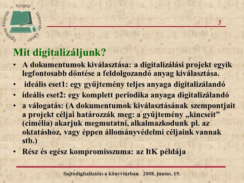 5 Mit digitalizáljunk.