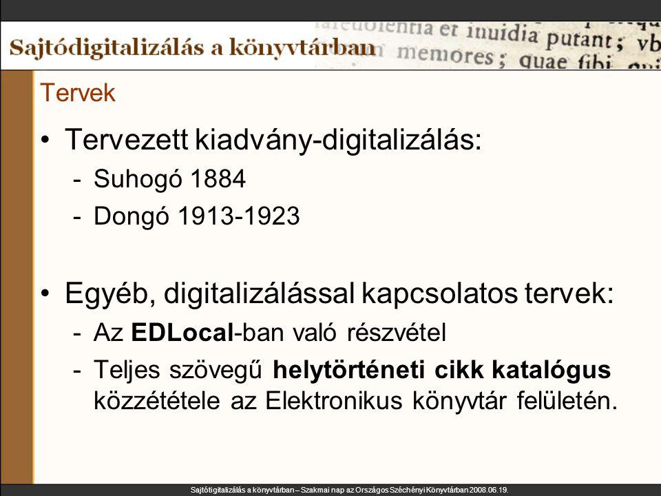 Sajtótigitalizálás a könyvtárban – Szakmai nap az Országos Széchényi Könyvtárban 2008.06.19.