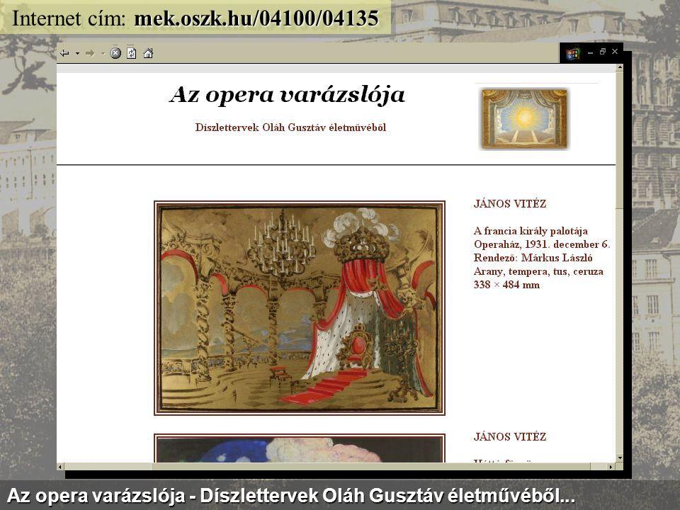 mek.oszk.hu/kiallitas/1956/ Internet cím: mek.oszk.hu/kiallitas/1956/ 1956 emléke a Magyar Elektronikus Könyvtár dokumentumaiban...