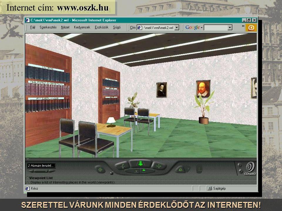 www.kincstar.oszk.hu Internet cím: www.kincstar.oszk.hu Az OSZK digitalizált kincsei CD-ROM sorozat formájában is megjelennek...