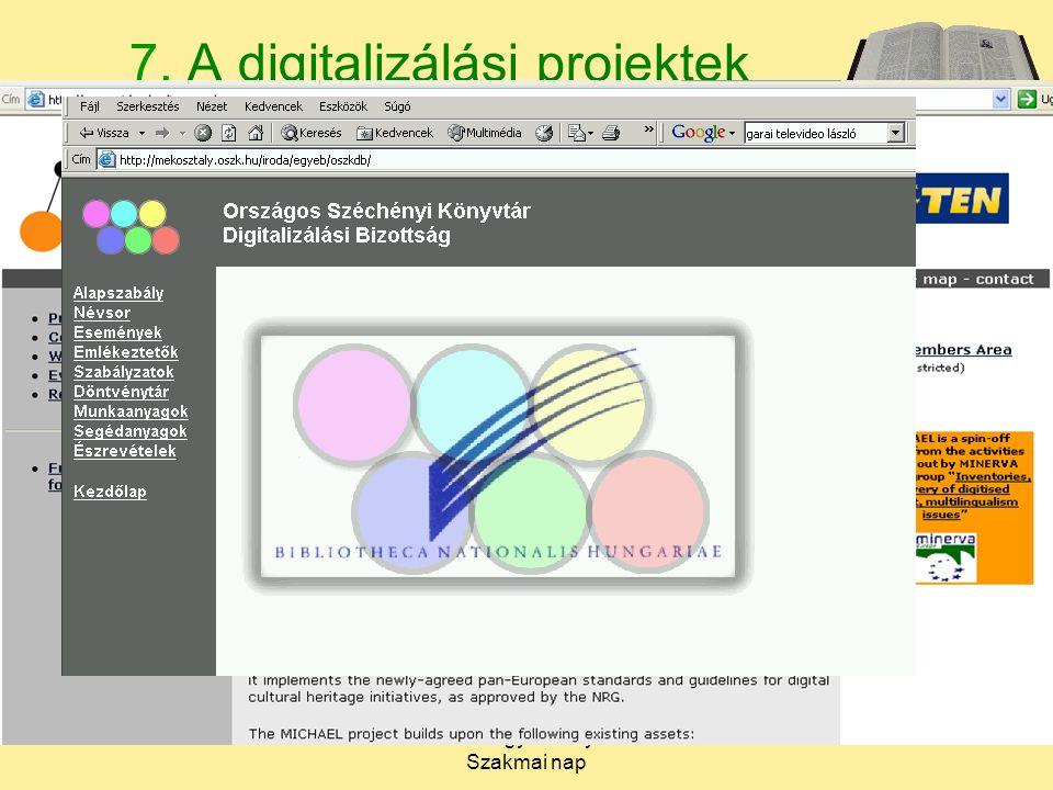 2005. február 7.Békés Megyei Könyvtár. Szakmai nap 9 7.