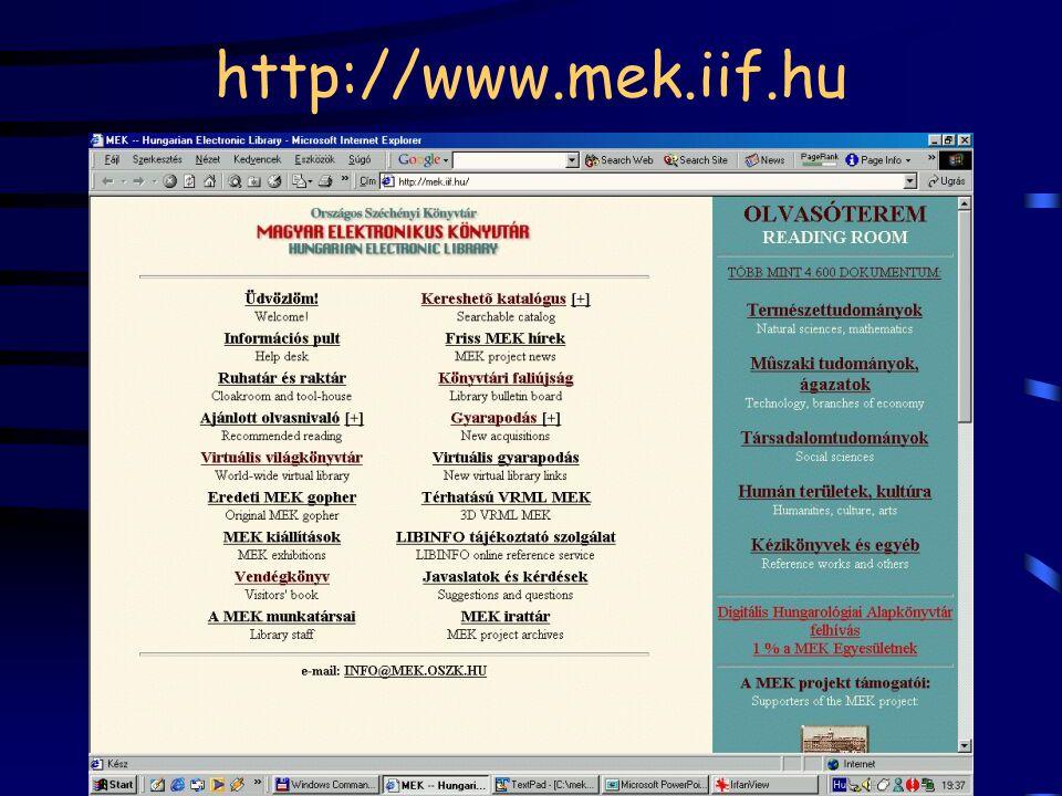 http://www.mek.iif.hu