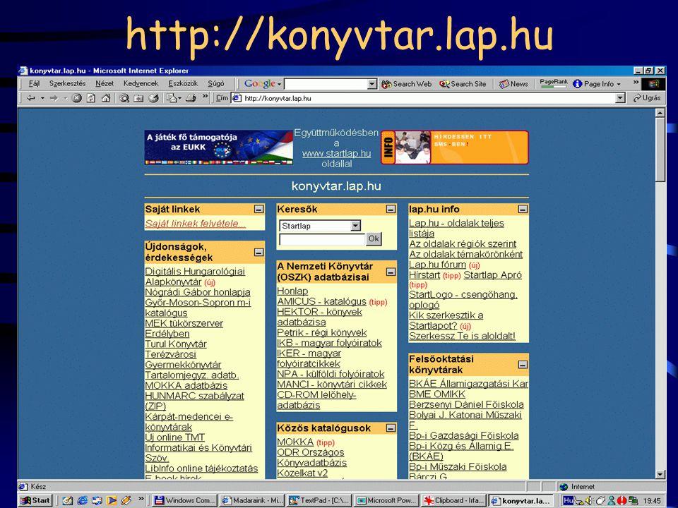 http://konyvtar.lap.hu